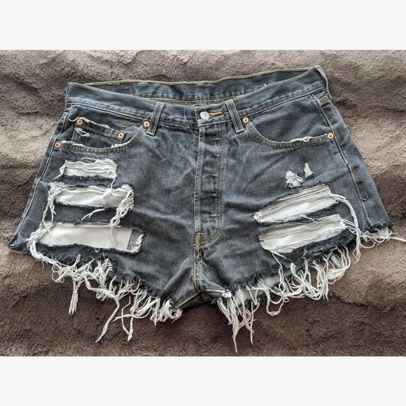 Levi's Pants - Custom Levi's Cutoff Shorts - W38